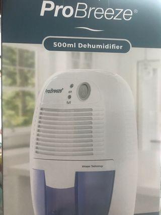 ProBreeze dehumidifier 500ml