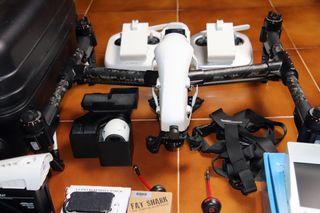 DJI Inspire 1 V2.0 (MOD: doble cámara) 2 Emisoras