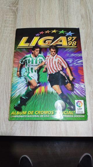 album cromos liga 97 98