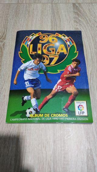 album cromos liga 96 97