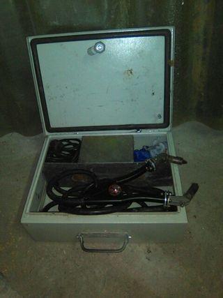 Máquina de soldar cobre electrica