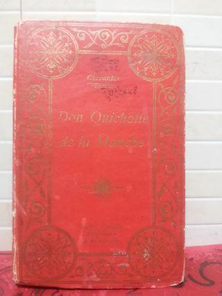 Ancien livre Don Quichotte de la manche