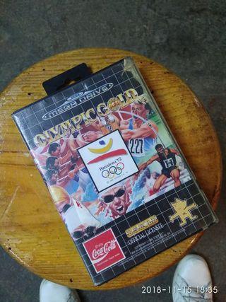 Olimpic gold barcelona 92' mega drive