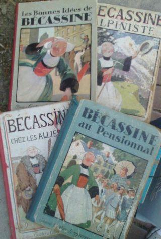 livres Becassine