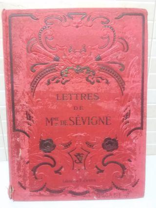 Ancien livre Lettres Madame de Sevigne