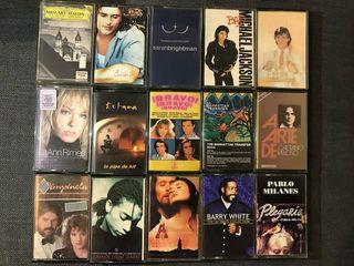 Lote/27 Cassettes Originales + Minicadena (B.F)