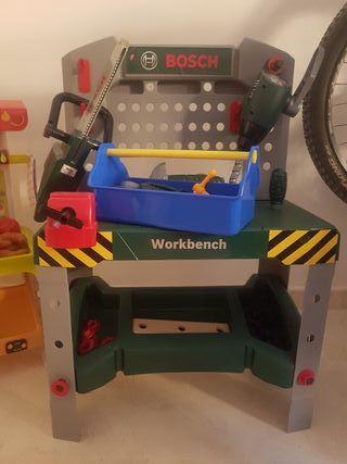 mesa de trabajo Bosh