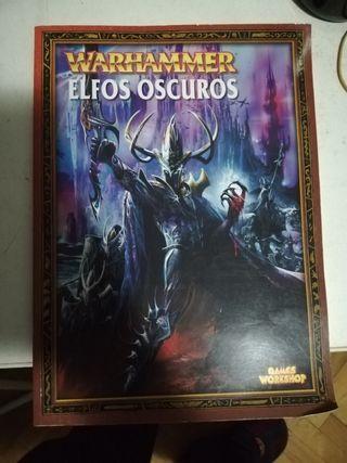 Warhammer libro elfos oscuros