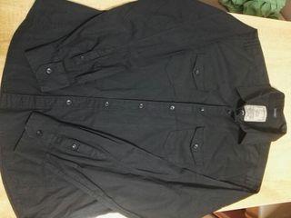 Springfield XL NUEVA Camisa hombre negra talla w6RxY1q
