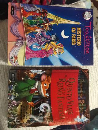 Pack libros Tea Stilton y Geronimo Stilton