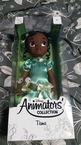Muñeca Tiana Animators Collection 1ª Edicion