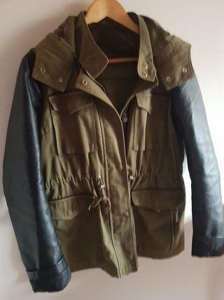 chaqueta verde militar talla M