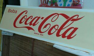 Placa CocaCola decoración