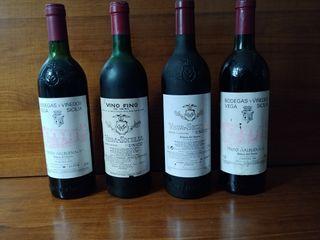 Colección Vinos Vega Sicilia