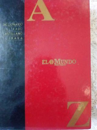 diccionario. castellano. euskera