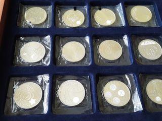 Monedas plata.