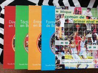 Libros: Entrenador Baloncesto primer nivel
