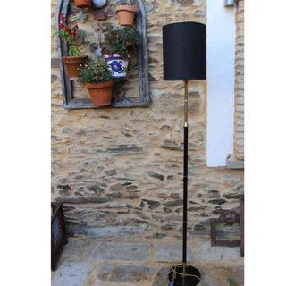 Antigua lámpara de pie años 60 de diseño