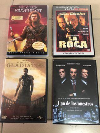 Colección de Películas/series DVD (+40 unidades)