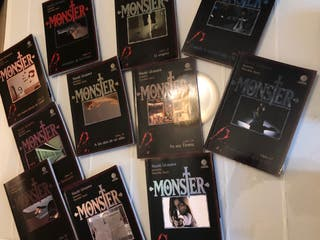 Manga clásico Monster. Naoki Urasawa