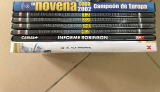 Coleccion DVDs Real Madrid