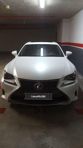 lexus rc de segunda mano en coches wallapop