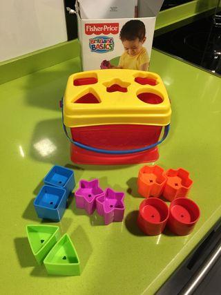 Cubos encajables, bebe,niño, juguete,puzzle, educa
