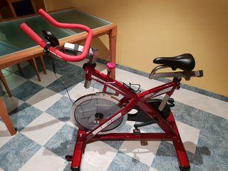 Bicicleta Spinning.