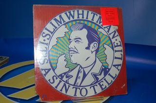 Vinilo DISCO- lp- Slim Whitman-its a sin to tell