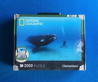 PUZZLE NATIONAL GEOGRAPHIC 2000 PIEZAS - NUEVO
