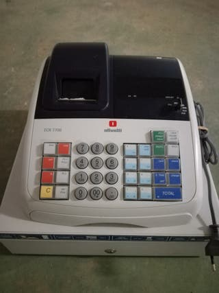 Registradora Olivetti erc-7700