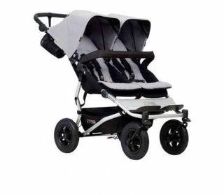 Carro doble bebe