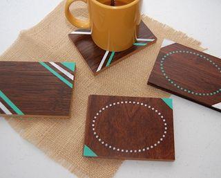 Posavasos madera personalizados
