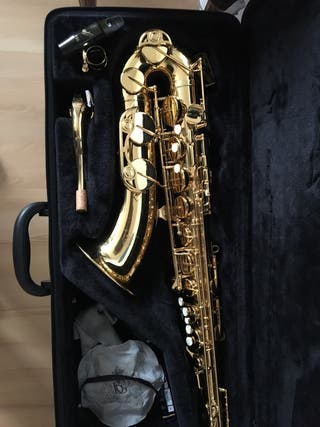 Saxofon tenor . Yamaha-280 boquilla vandoren T20