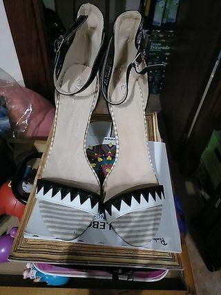 zapatos tacon mujer talla 41
