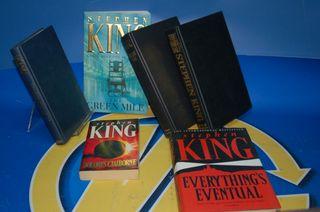 Lote de 6 Libros STEPHEN KING -en ingles