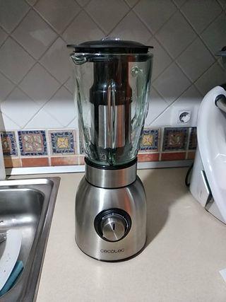batidora de vaso de cristal 1,5l 5 veloci y turbo