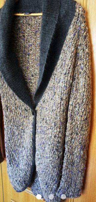 Chaqueta de lana tipo Frac