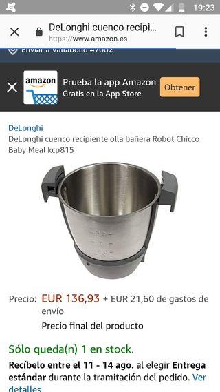 recambio robot de cocina baby meal