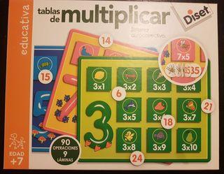 """JUEGO EDUCATIVO """"TABLAS DE MULTIPLICAR"""""""