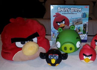 """LOTE INFANTIL """"ANGRY BIRDS"""""""