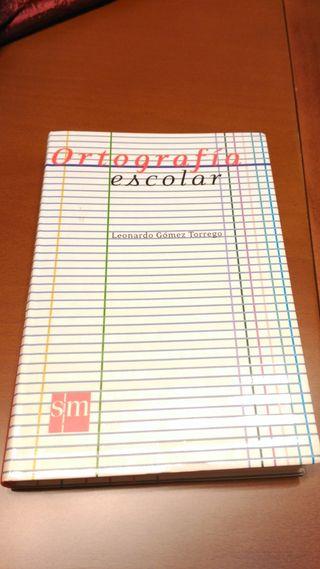 Libro Ortografía Escolar