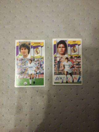 Cromos Real Madrid 90/91