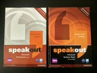 Speakout Advanced Student's Book+Workbook