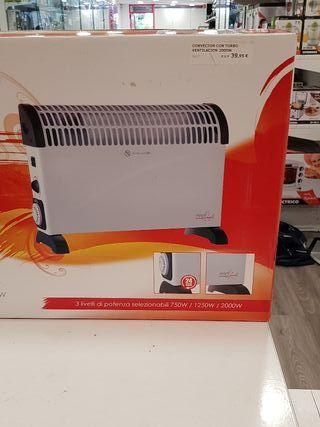 calefactor con turbo