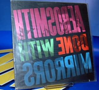 Vinilo LP disco- Aerosmith Done With Mirrors