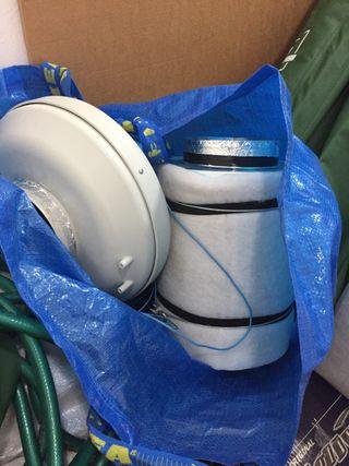 Extractor con filtro