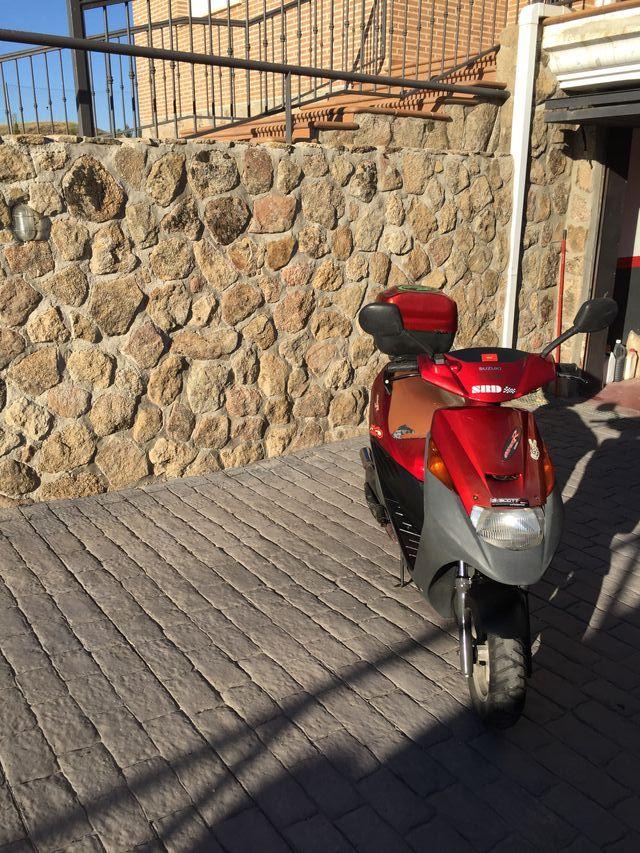 Scooter Suzuki Address R AP50x