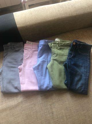 Jeans niña lote
