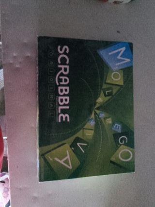 juego de mesa scrable